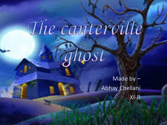 The Canterville Ghost Novel Pdf