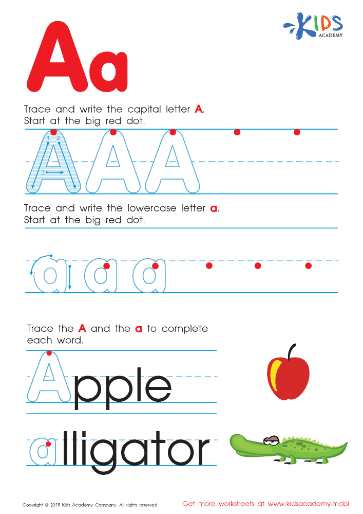Free Alphabet Worksheets for Kids A-Z |authorSTREAM