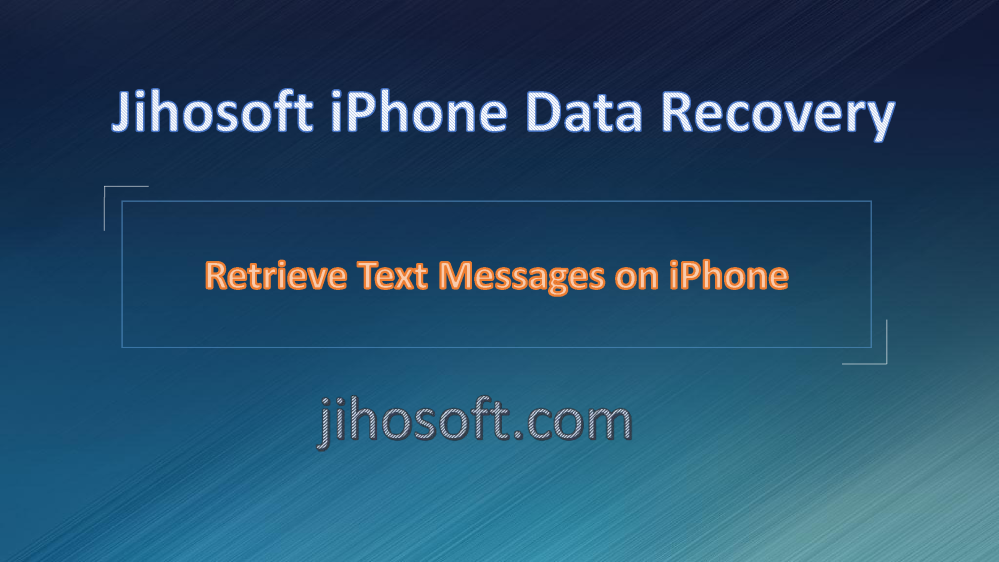 iphone text message recovery how to retrieve deleted text messages on iphone authorstream 15479