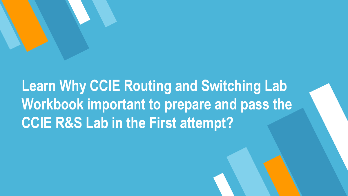 Workbooks ccie workbook : CCIE Routing And Switching Practical Exam Dumps |authorSTREAM