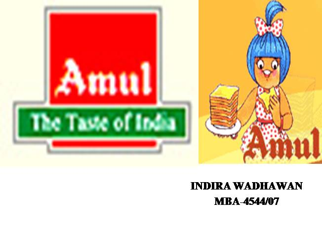 Amul Marketing Strategy Download