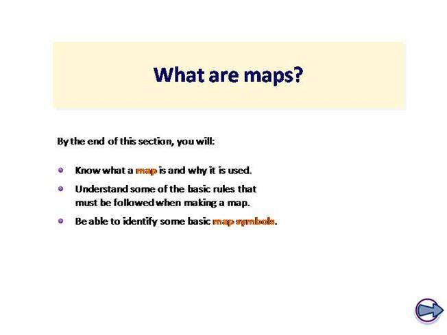 What Are Maps What are Maps |authorSTREAM What Are Maps